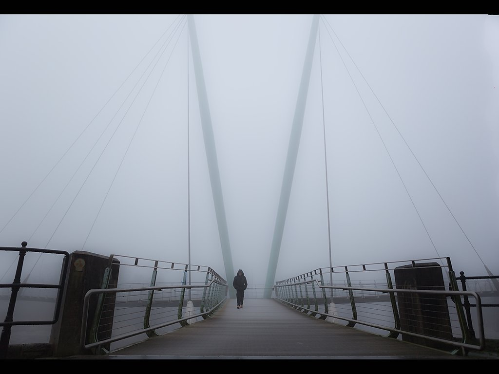 Walking through Mist (c) Tina Cordukes [Commended]