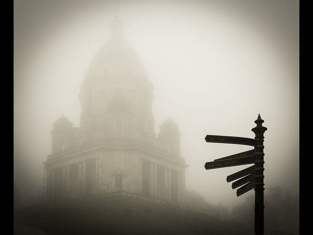 I can see it in the fog! (c) Trevor Fleet [Highly Commended]