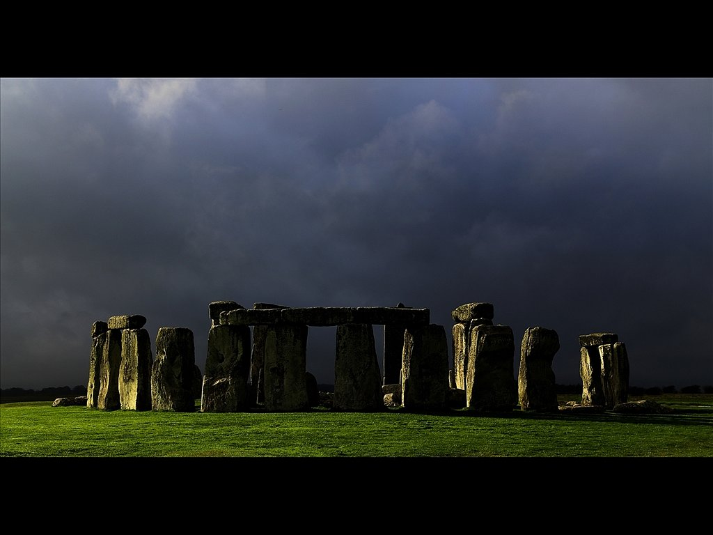 Last Light Before The Storm Stonehenge (c) Mike Atkinson [Commen
