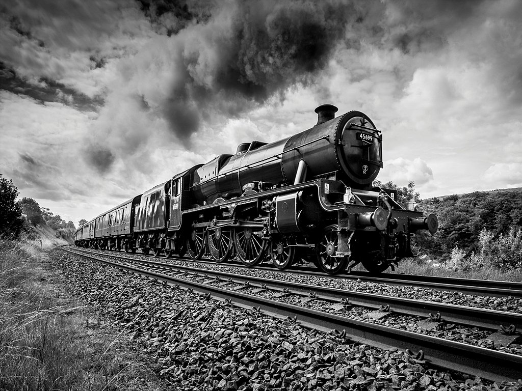 Galatea Steam Train (C) Allan Hartley