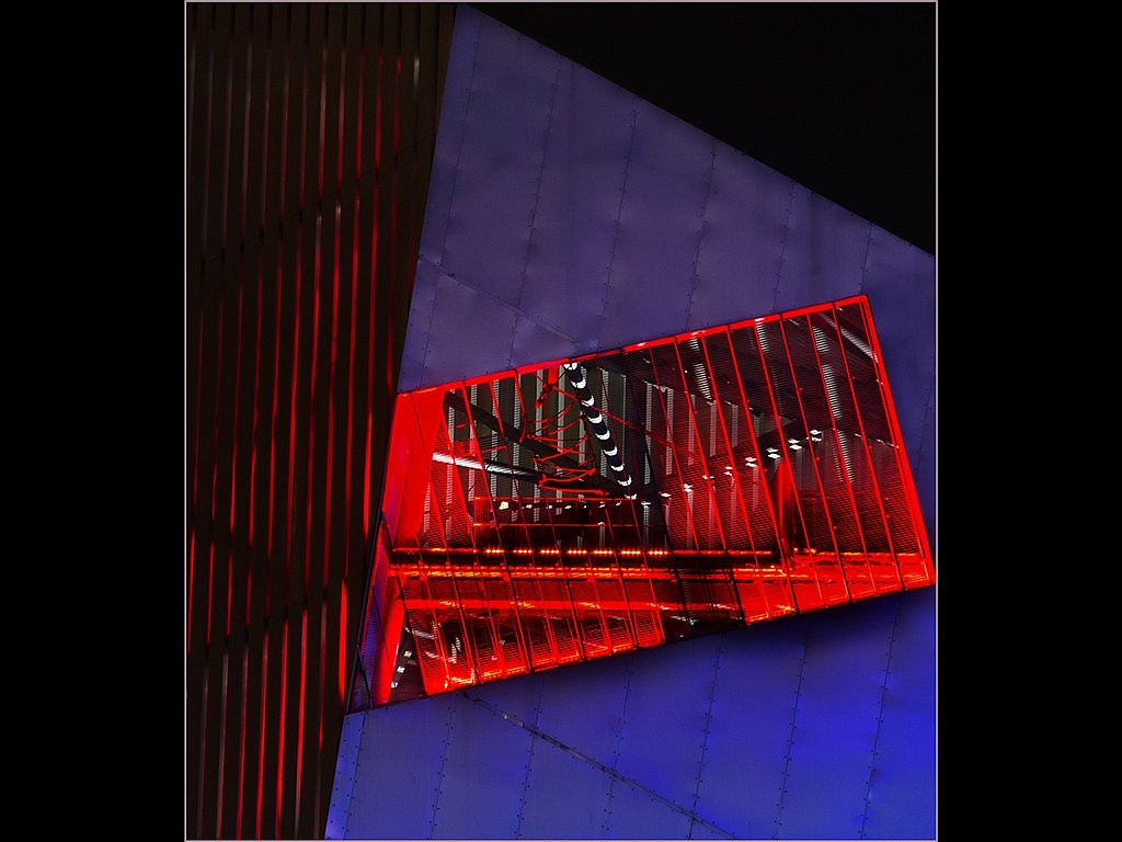 Patterns In Steel And Neon (C) Alan Phillips
