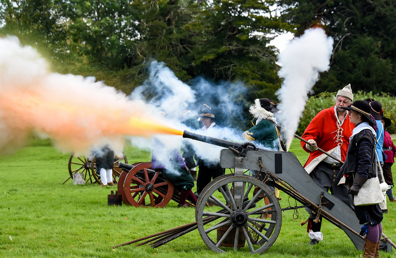 Cannon fire - Lancaster Photographic Society