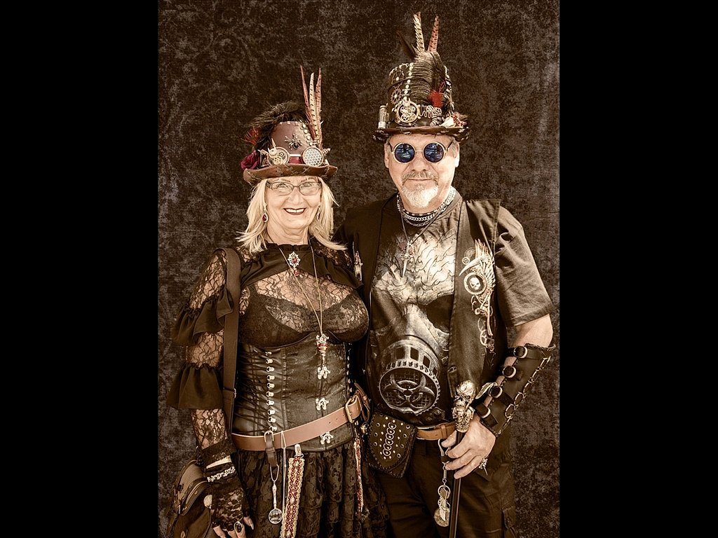 Steam Punk Couple (c) Graham Harvey [Commended]
