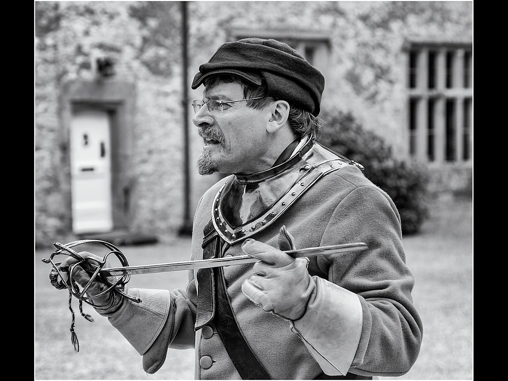 Enactment Swordsman (c) Ken McGrath [Commended]