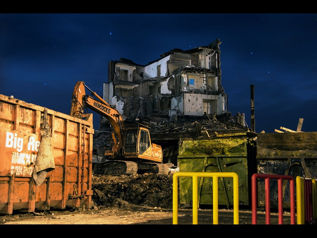 Demolition Broadway (c) Karen Chandisingh  [Commended]