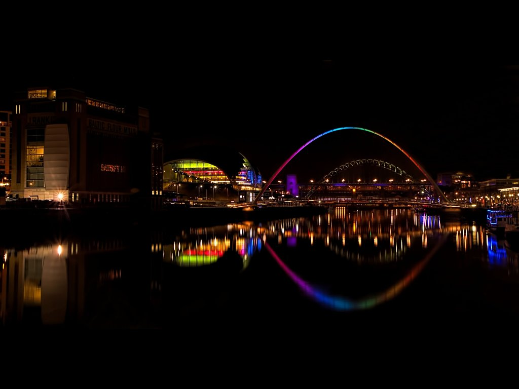 Rainbow on the Tyne (c) Carole Wetherley [Commended]