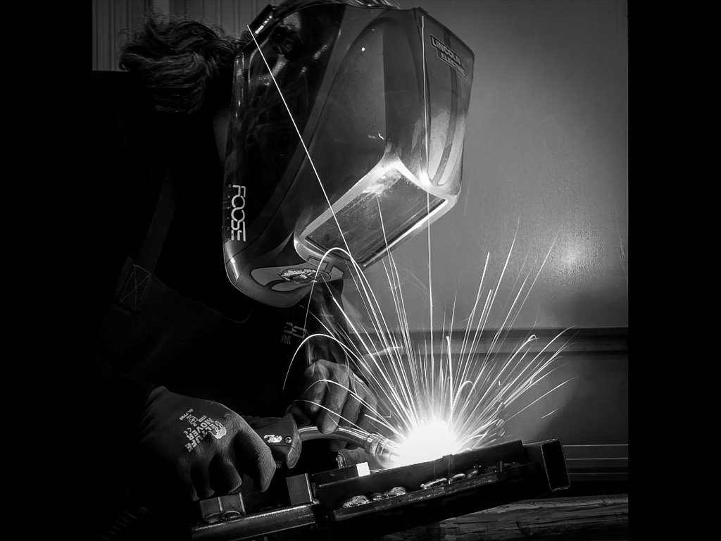 The welder (c) Charlie Gott [Highly Commended]