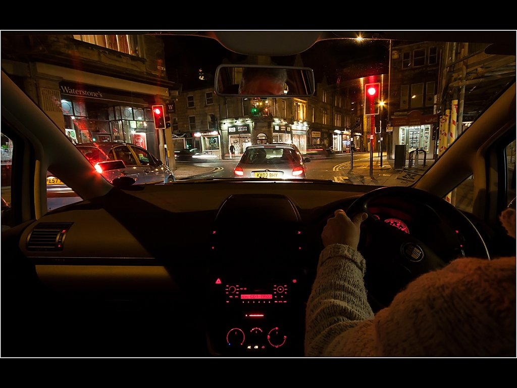 U driving (c) Mike Atkinson [Highly Commended]