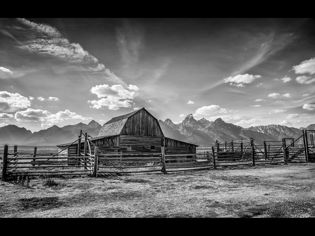 Ansel Adams Moulton Barn (c) Allan Hartley [Commended]
