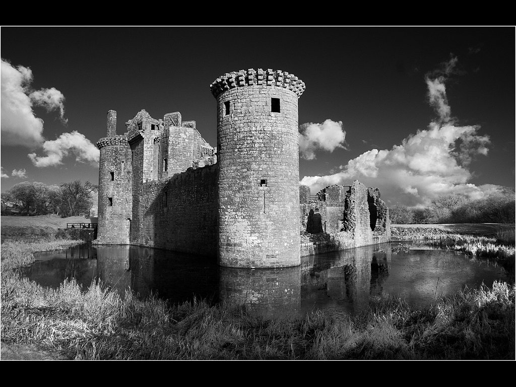 Caerlaverock Castle (c) Mike Atkinson [Highly Commended]