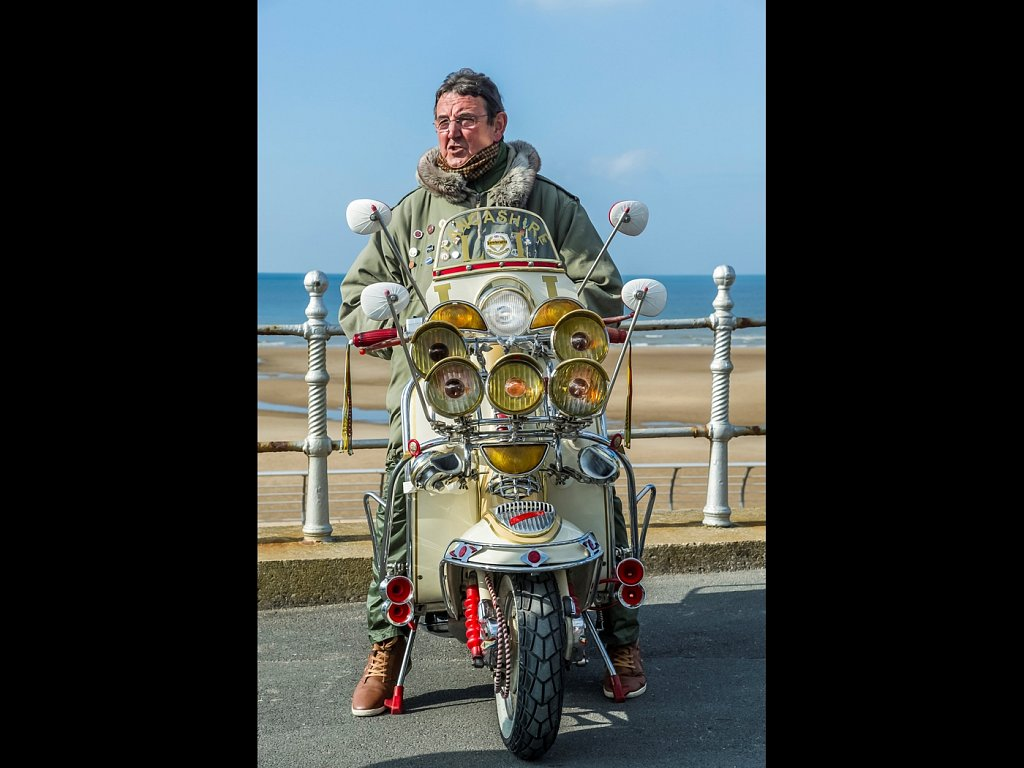 Lambretta fan-man (c) Allan Hartley [Commended]