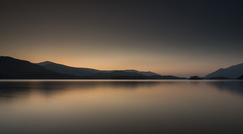 A Derwentwater Sunset by Carmen Norman