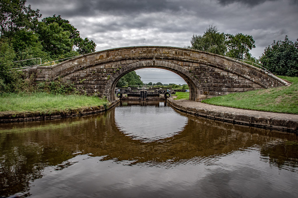'Glasson branch locks' Copyright (C) Ruth Lochrie 2019