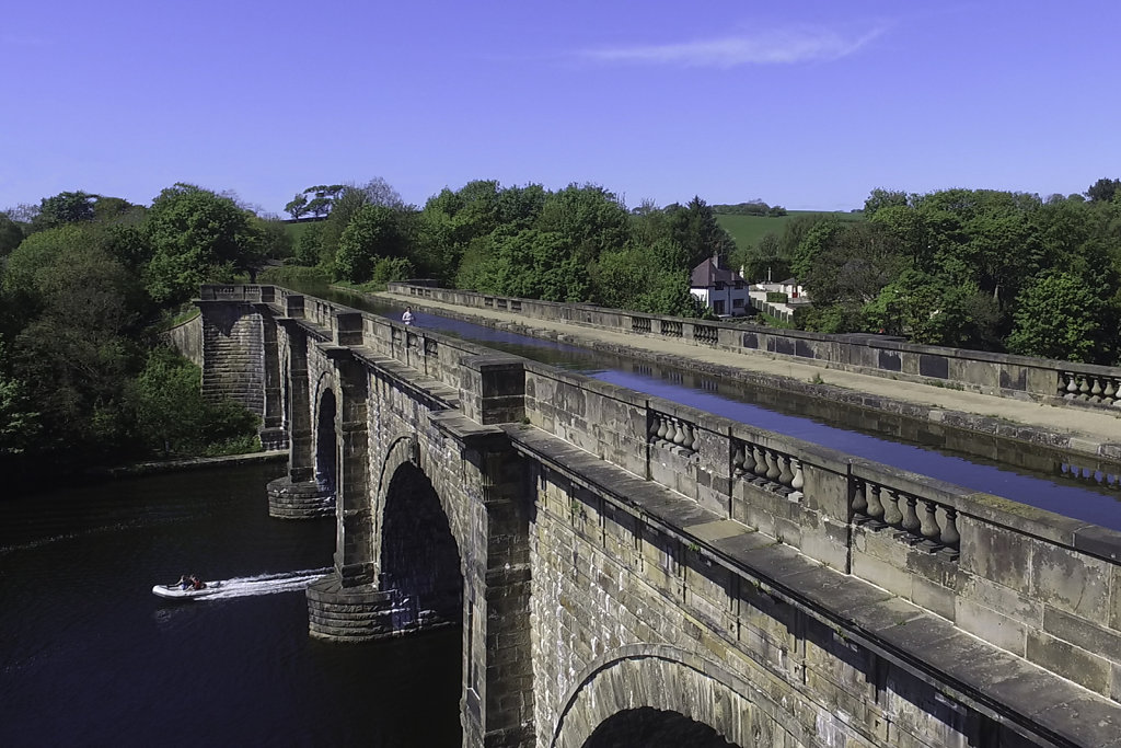 'Crossing The River Lune' Copyright (C) Colin Yates 2019