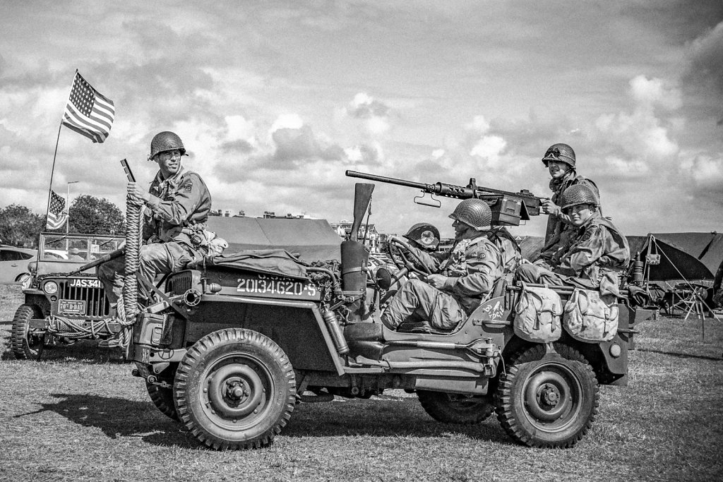 'Heading to the Front' Copyright (C) Michael Yates 2019