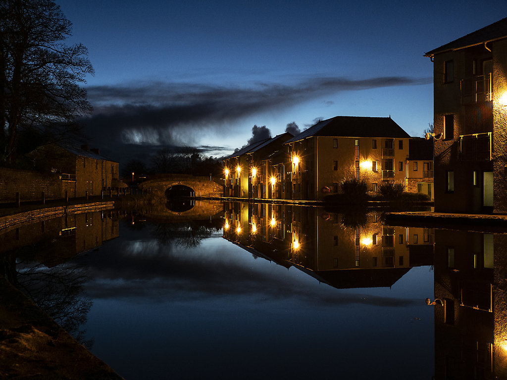'Canal at Dusk' Copyright (C) John Connell 2019