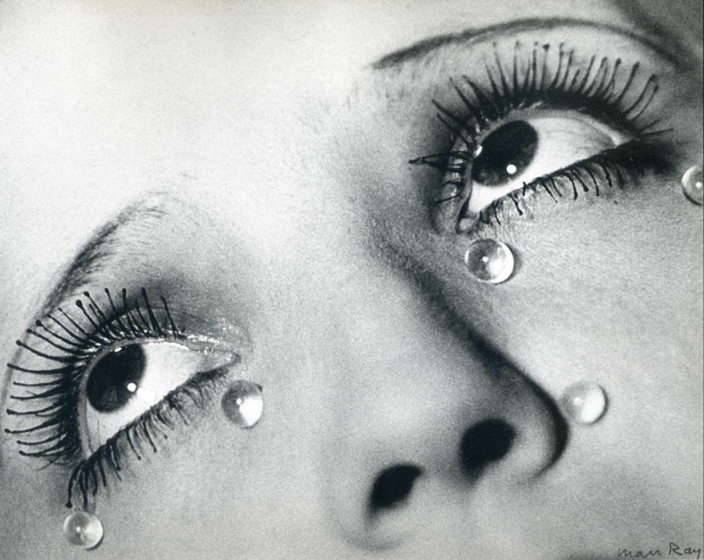 Les larmes by Man Ray