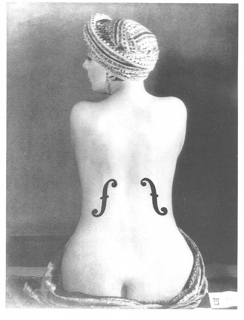 Le violin d Ingres by Man Ray