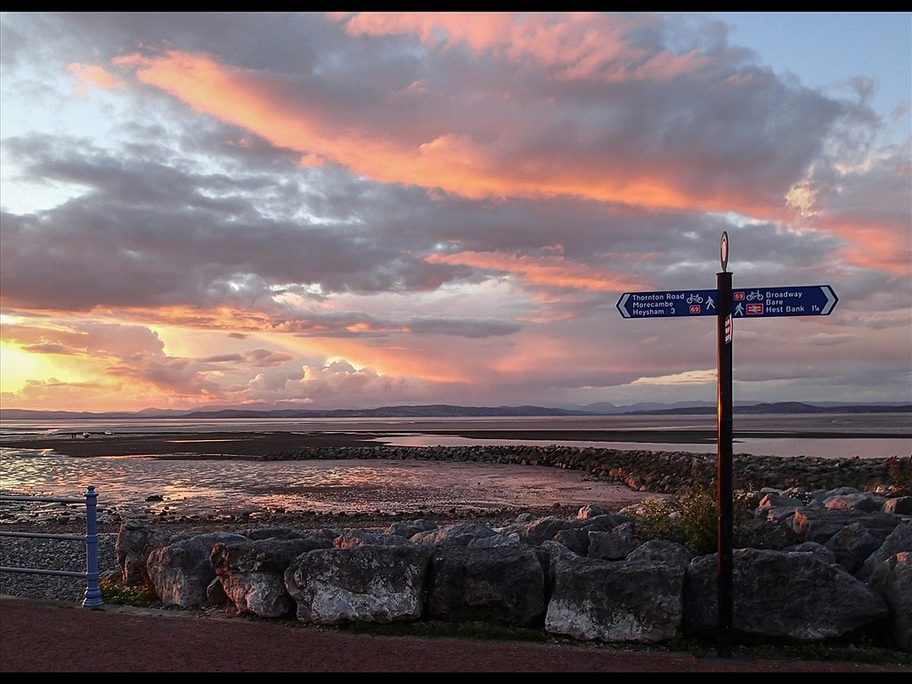 Morecambe Sunset (c) Sally Anderson [Commended]