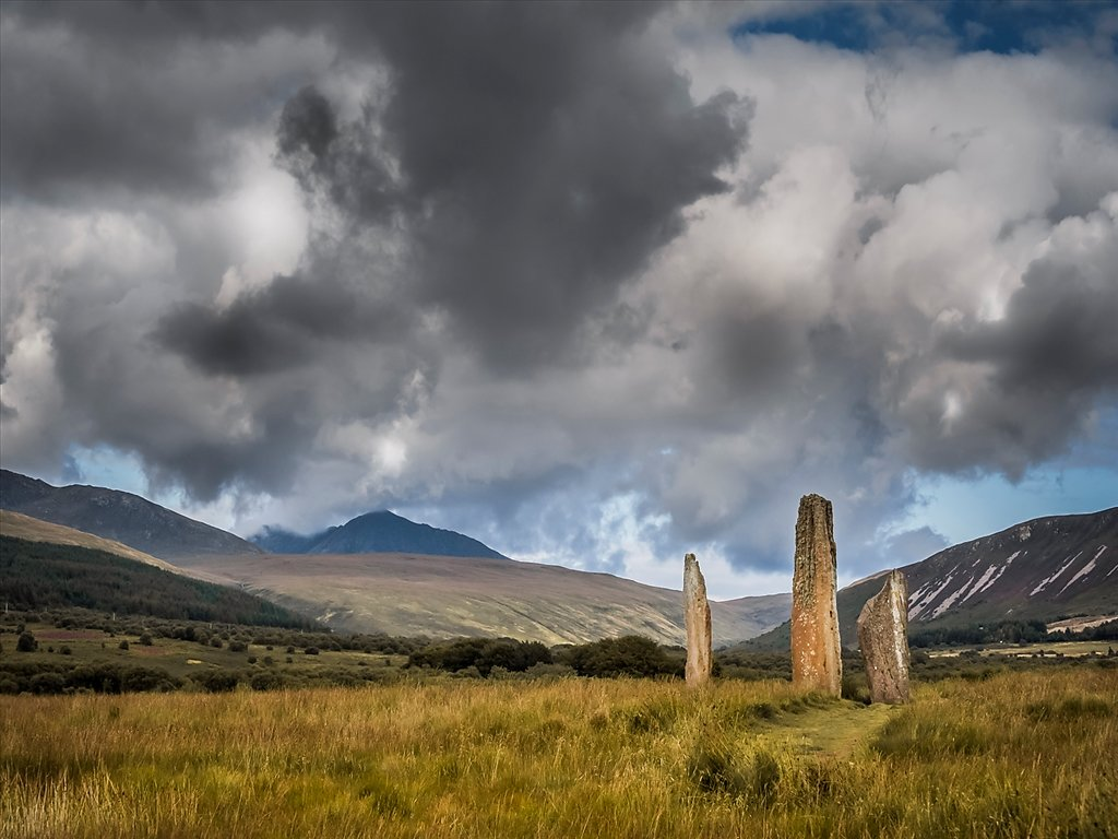 Machrie Stones  (c) Allan Hartley [Commended]