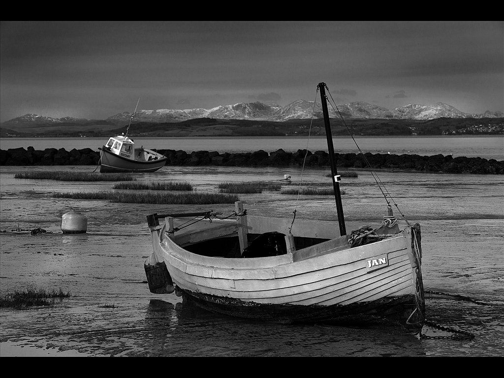 Winter Morecambe Bay (c) Mike Atkinson [Highly Commended]