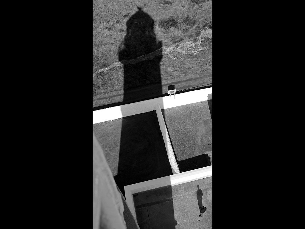 Lighthouse shadow (C) Sally Anderson