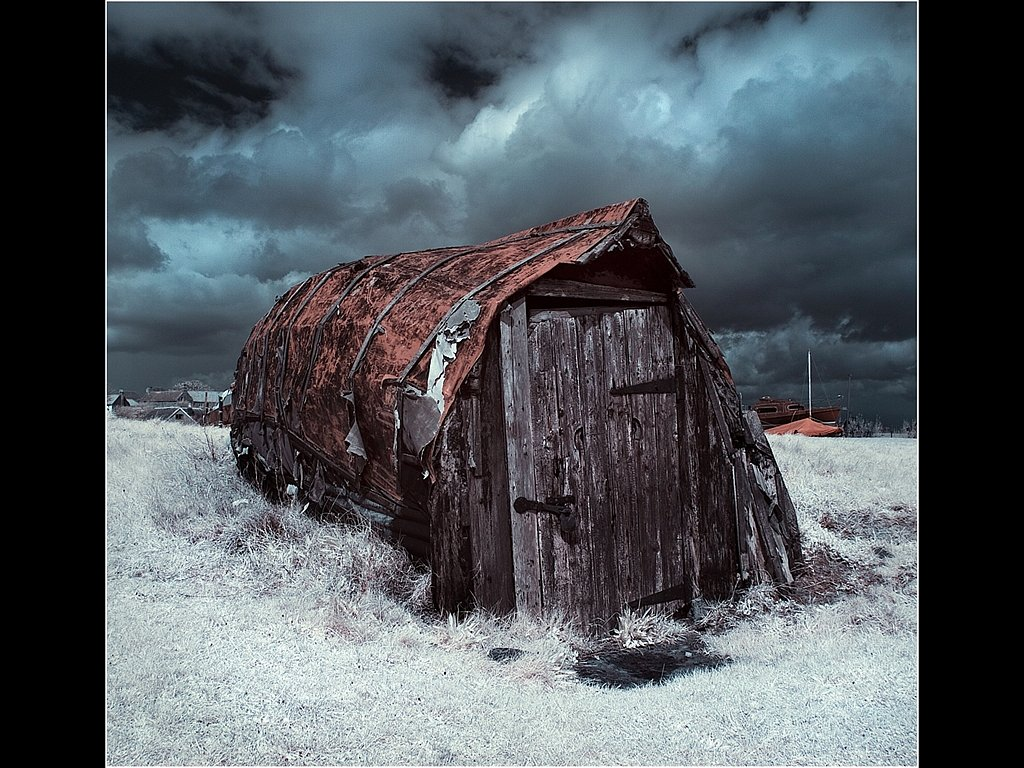 Boat Shed Lindisfarne (c) Mike Atkinson [Highly Commended]