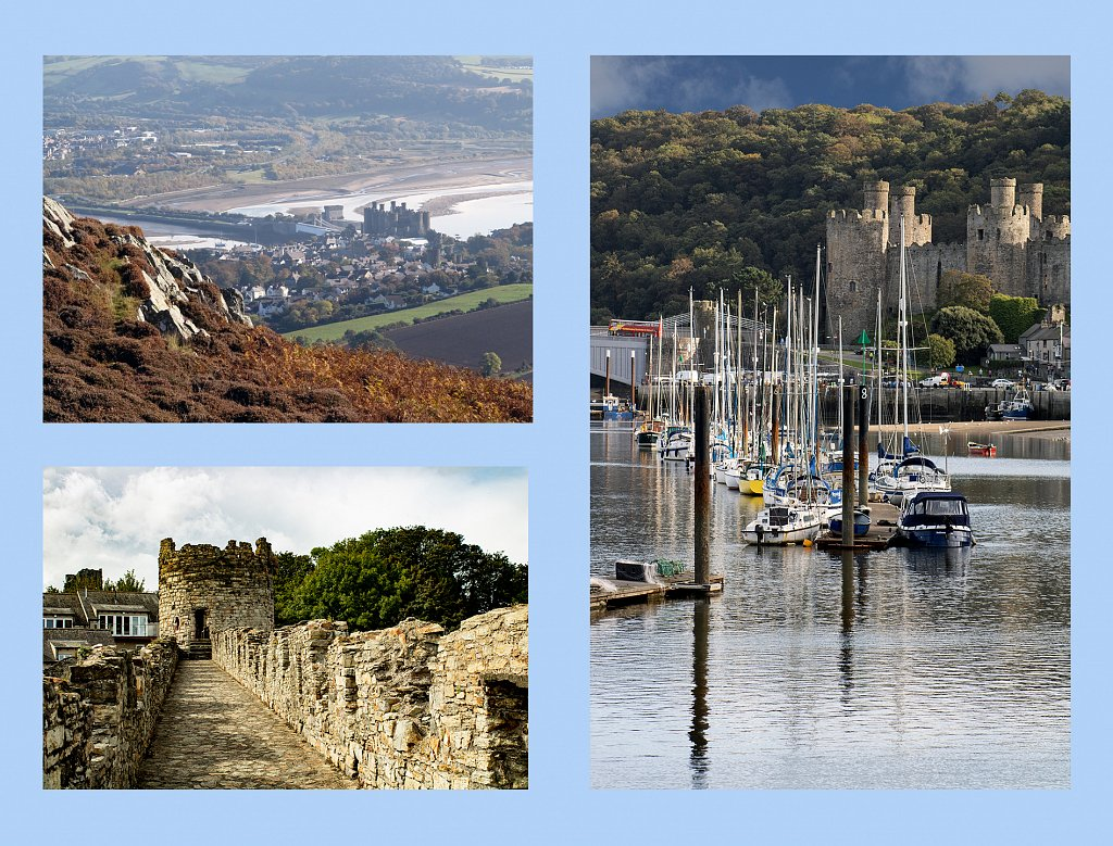 'Going to Conwy Castle' Copyright (C) Jan Kent 2020