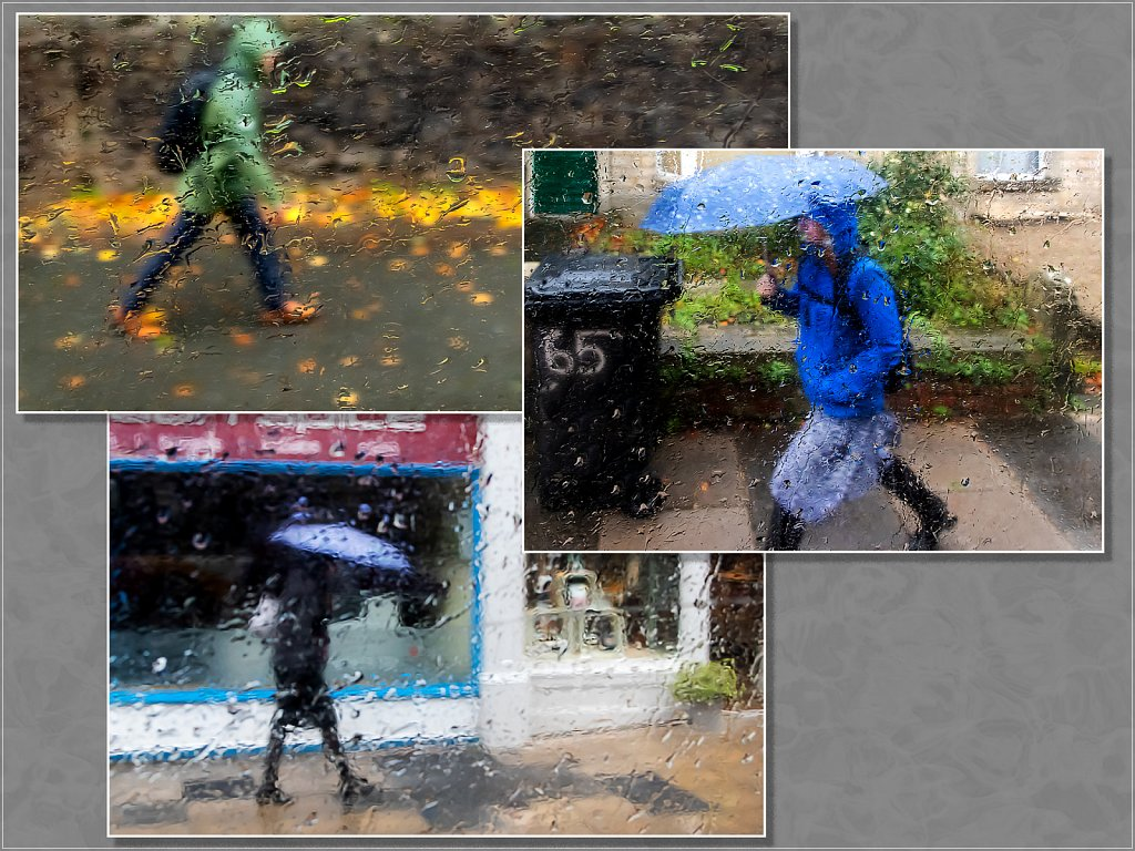 'Rainy Day from the Bus' Copyright (C) Alan Phillips 2020